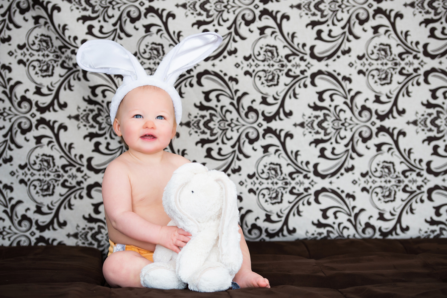 Easter Baby Bunny | Halifax Family Photographer
