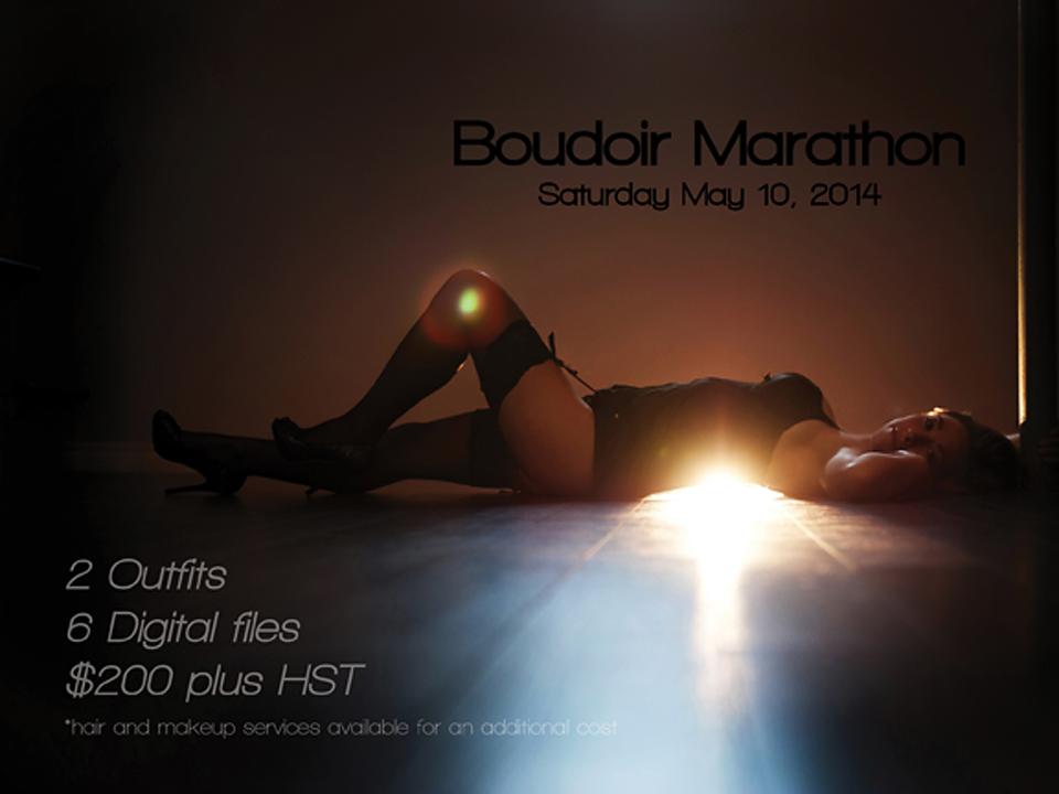 Boudoir Marathon  | Boudoir Contest | Halifax Boudoir Photography